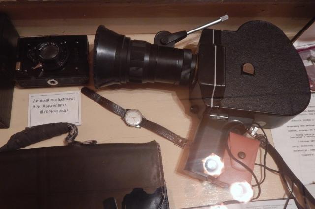 Камера и фотоаппарат Ари Абрамовича