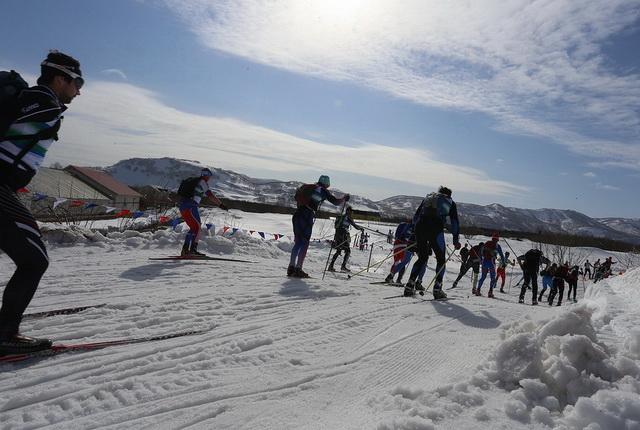 Мутновский марафон, лыжные гонки