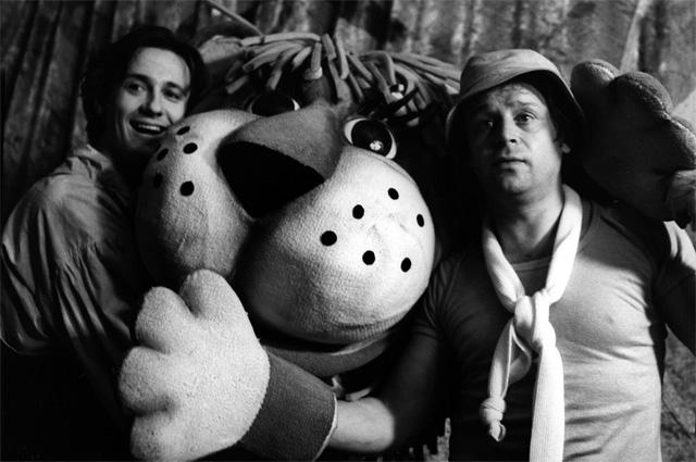«Мой любимый клоун», 1986 г. Олег Меньшиков и Владимир Ильин.