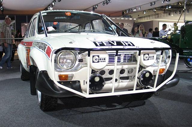 Одним из основных конкурентов «Москвича» на ралли «Лондон-Мехико» был новейший (в серии с 1968 года) Ford Escort.