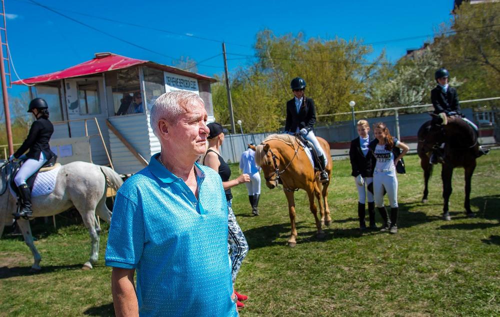 На соревнования, организованные Сергеем Щичко, собрались 35 наездников со всей области и других регионов.