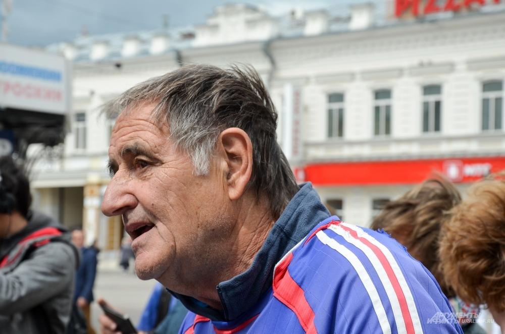 Болельщик сборной Франции Клеман Томашевски