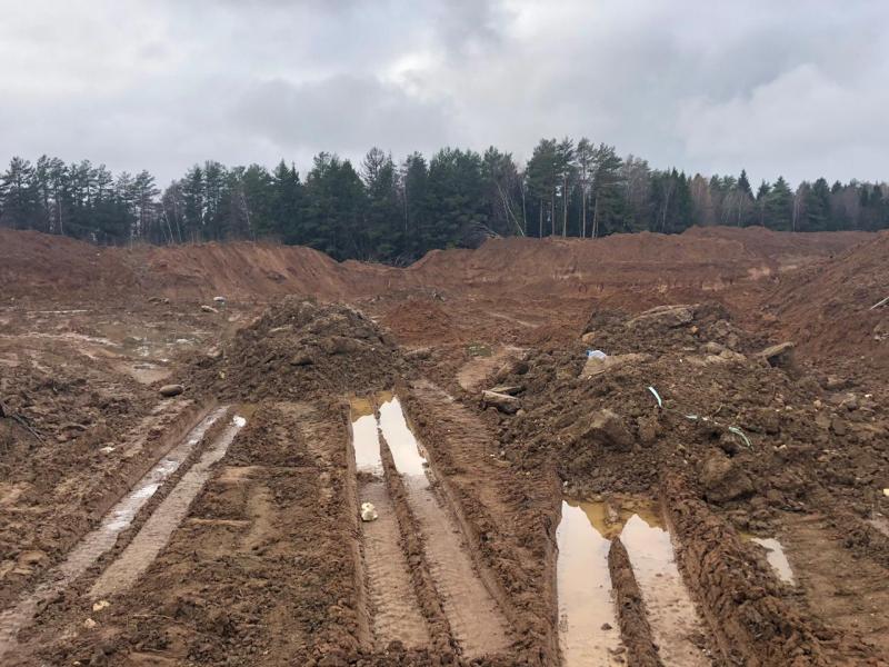Площадь, на которой производится захоронение, составляет 1,45 га и продолжает расти.