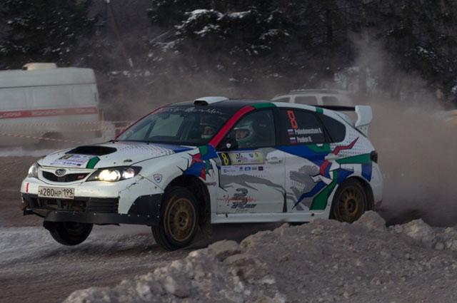 Новая расклейка Subaru Impteza STI  ярославцев Алексея Победоносцева и Николая Пенькова.