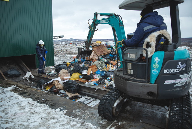 Мусор, отходы, свалка, мусороперерабатывающий завод