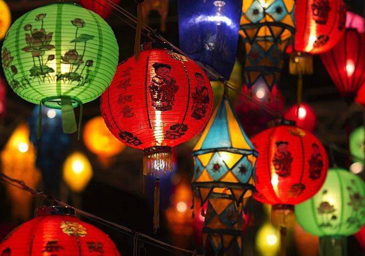 Фестиваль китайских фонарей на Певчем поле