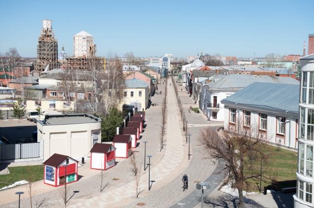 Пешеходная улица Металлистов