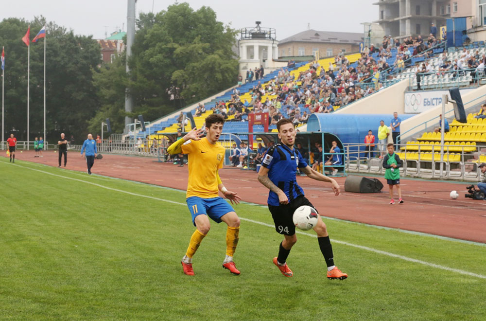Открытием сезона стал нападающий Саид Алиев.