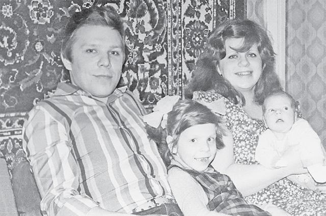 Фото из детства Марины Девятовой. Её отец жил именно в районе Крылатское.