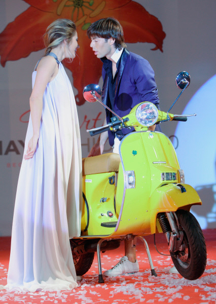 Марк Тишман на балу моды и красоты Martini May Fashion. 2010 год