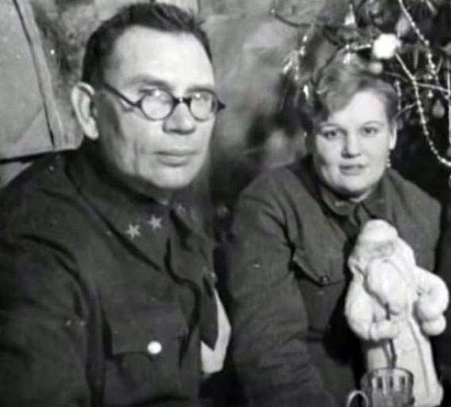 Генерал Андрей Власов и Агнесса Подмазенко.