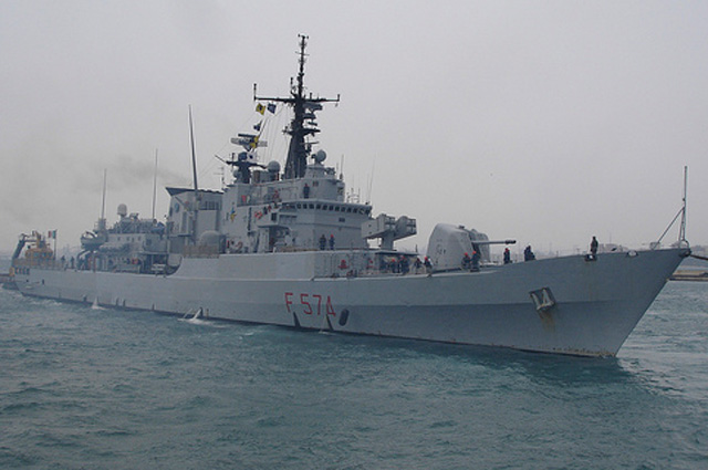 Фрегат УРО Ализео ВМС Италии