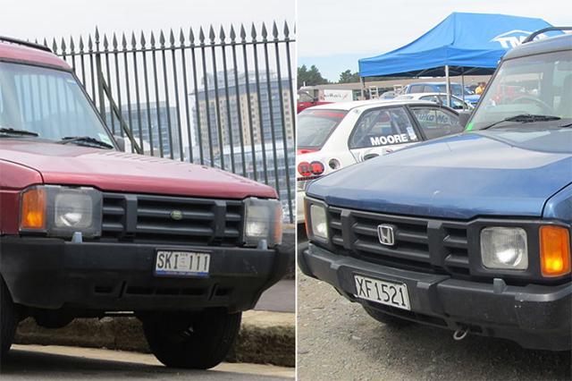 Honda Crossroad и Land Rover Discovery