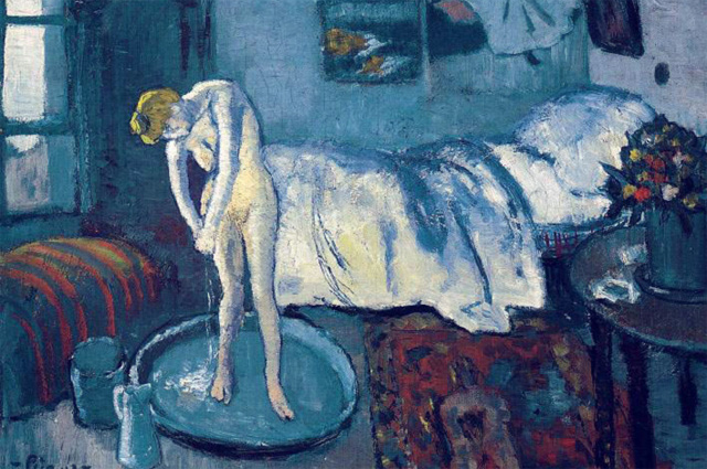 Пабло Пикассо «Голубая комната (Ванна)», 1901 год