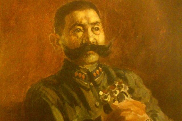 Портрет О.И. Городовикова работы А.М. Герасимова.