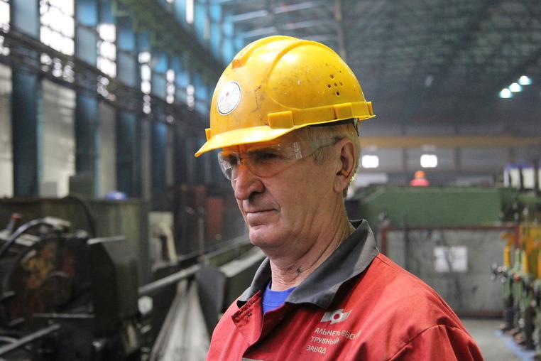 Сергей Самгин, сварщик