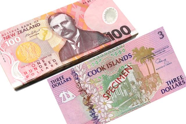 Новозеландский доллар и доллар Островов Кука