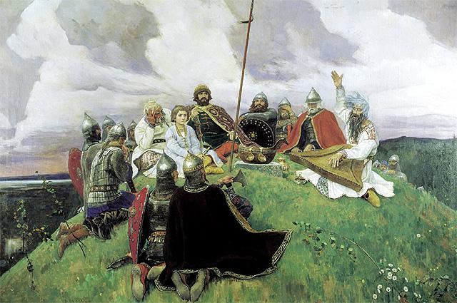 «Баян», Виктор Васнецов, 1910 год