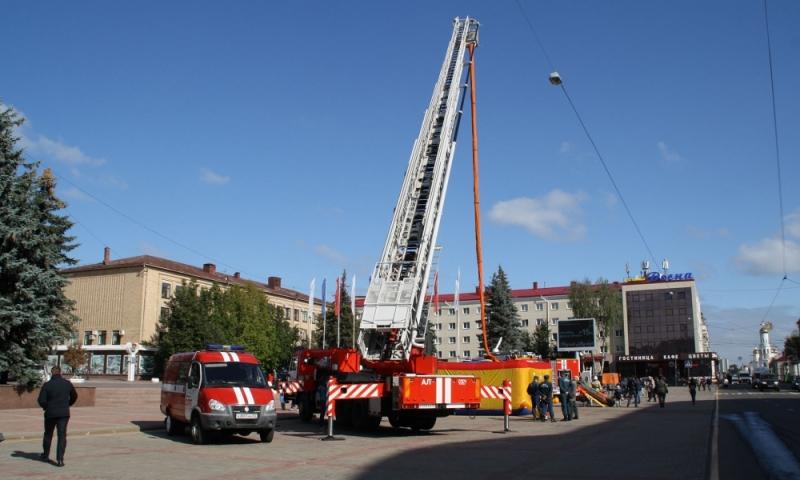 выставка пожарно-спасательной техники