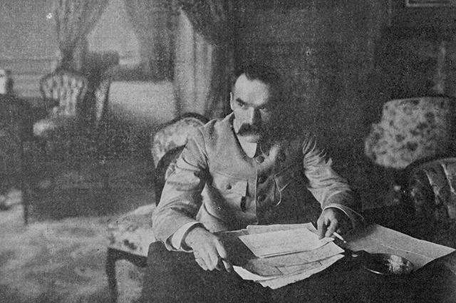 Юзеф Пилсудский.