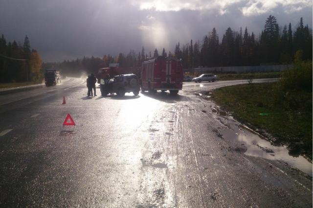 В Перми в ДТП с машиной скорой помощи пострадала женщина-врач.