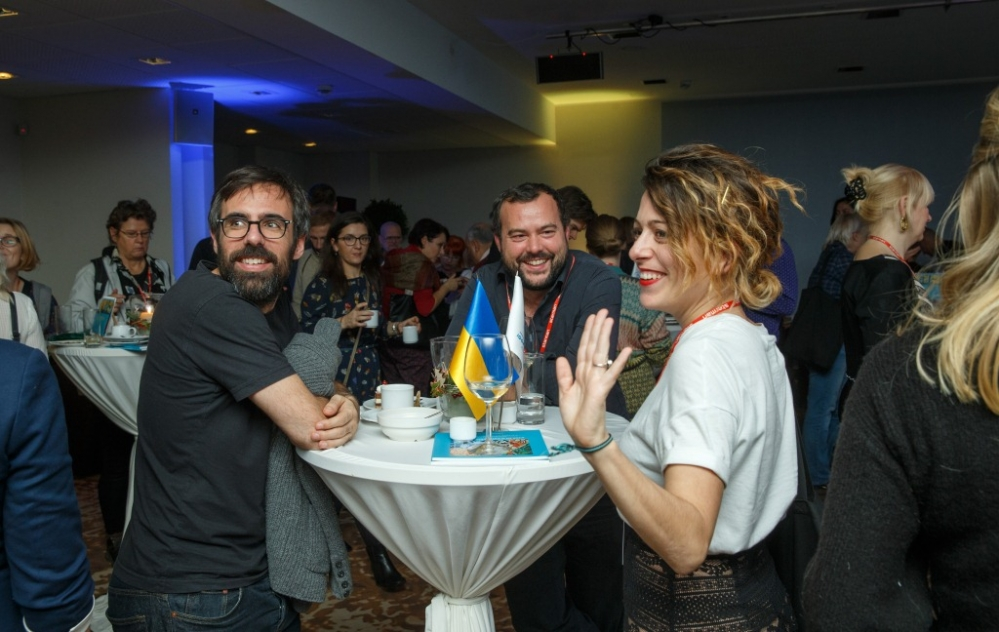 Гости на приеме в честь украинского кино