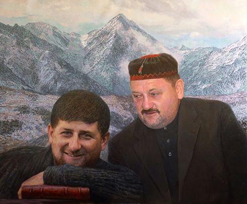 портрет Кадыровых, Анвар Сайфутдинов