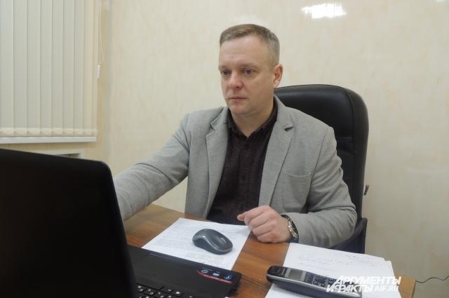 Руководитель учреждения – офицер запаса Александр Рубцов.