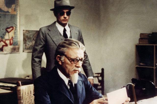 Ален Делон и Ричард Бёртон. Кадр из фильма «Убийство Троцкого», 1972 год