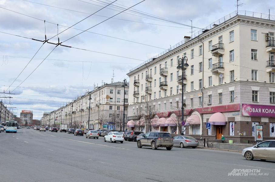 Улица Свердлова в Екатеринбурге.