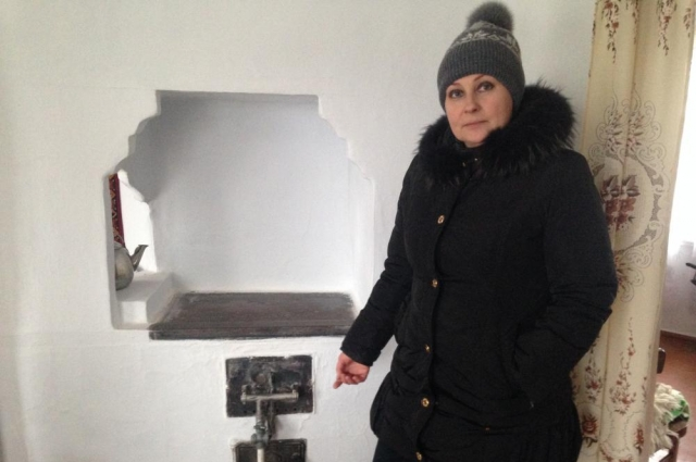 Свеилана Дулогло передумала продавать домик с русской печкой, будет его туристам показывать.
