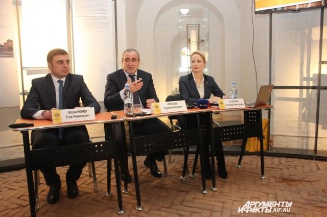 Сергей Неверов согласился возглавить попечительский совет смоленского отделения РВИО.