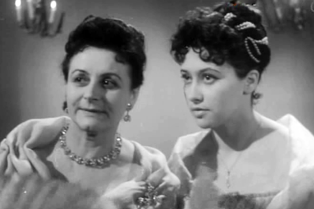 Евдокия Урусова в фильме «После бала», 1961 г.