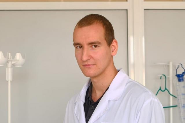Константин Табакаев, студент 4-го курса медколледжа, 4 месяца отработал в ковидном госпитале в красной зоне.
