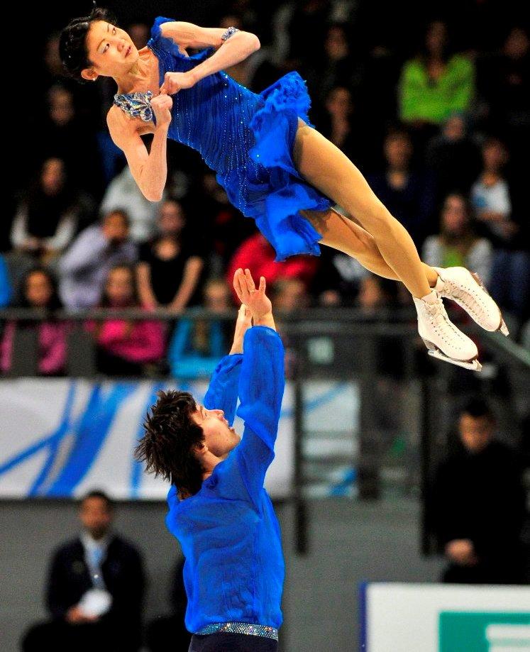 Юко и Саша катаются вместе с 2006 г