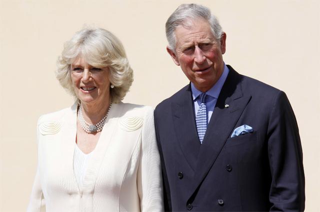 Камилла Шанд и принц Чарльз