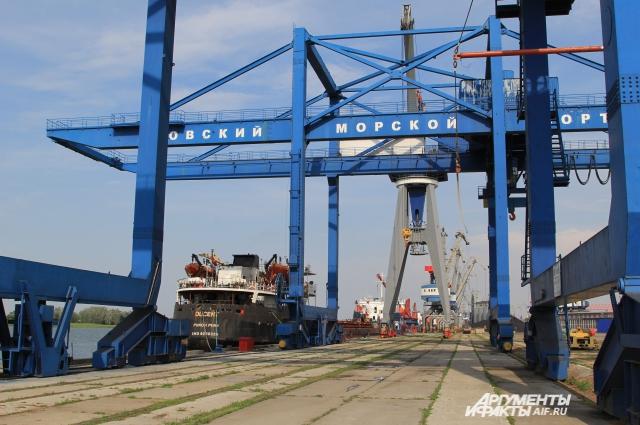 В портах Ростовской области вывоз металлолома — выгодный бизнес.