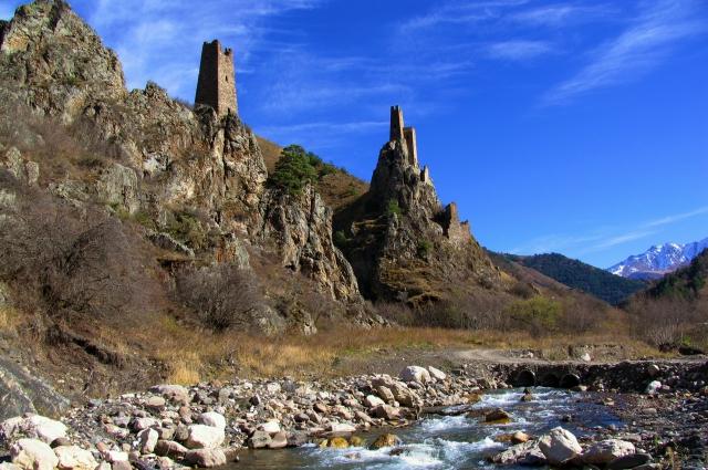 Одна из «визиток» Ингушетии – башенный комплекс Вовнушки.