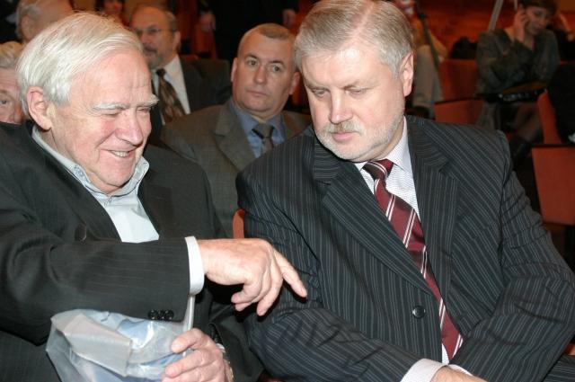 Даниил Гранин и Сергей Миронов вспоминают о годах службы.