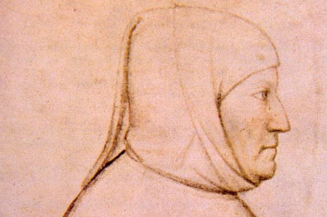 Альтикьеро да Дзевио, портрет Петрарки.