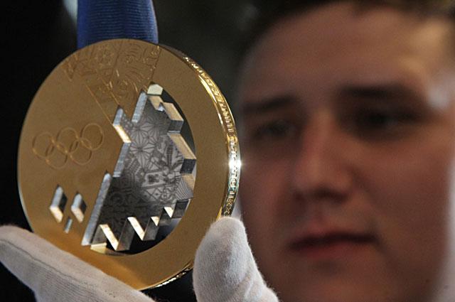 Золотая медаль сочинской Олимпиады-2014
