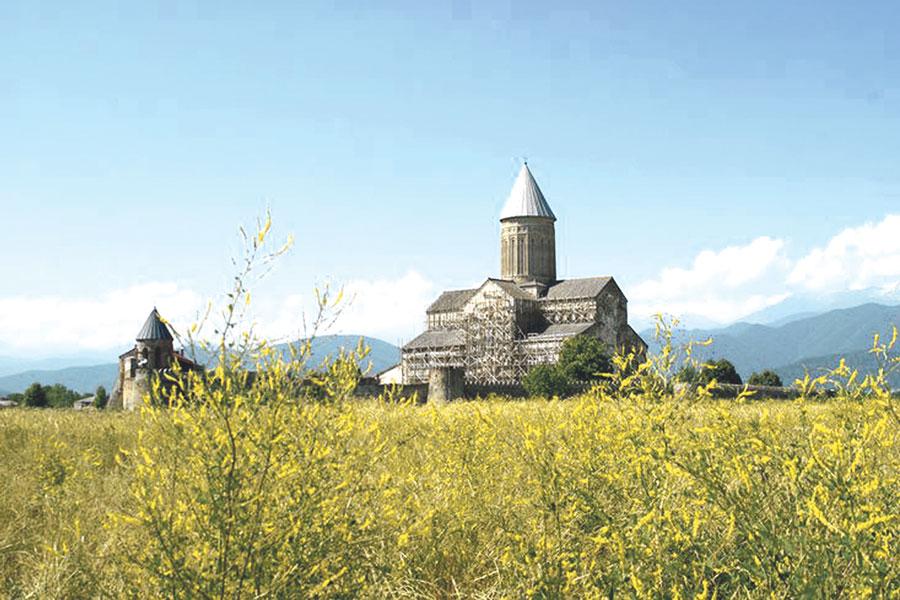 Святыни Грузии: монастырь Алаверди.