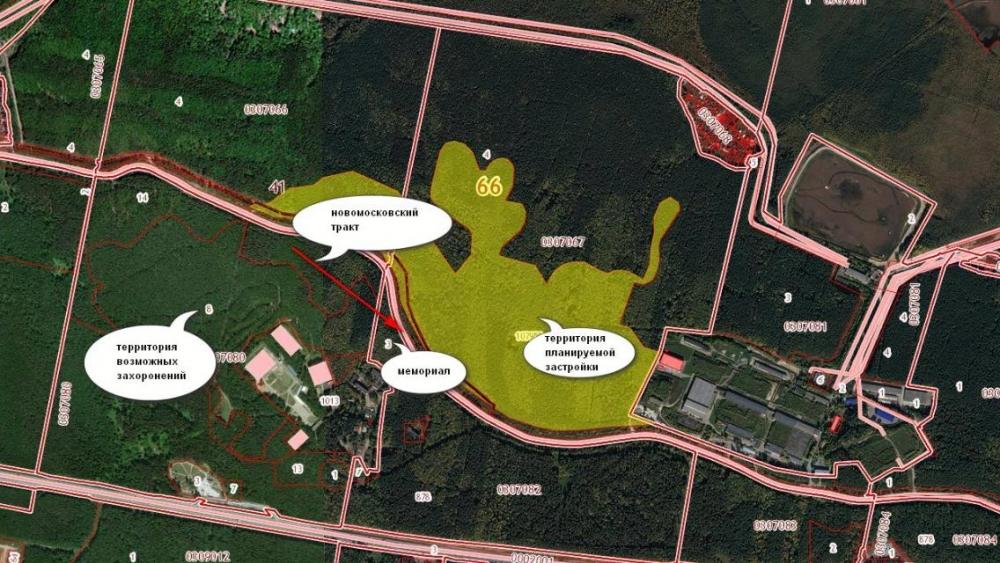 Схема нового биатлонного комплекса под Екатеринбургом
