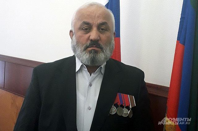 Ополченец Камиль Гаджиев.