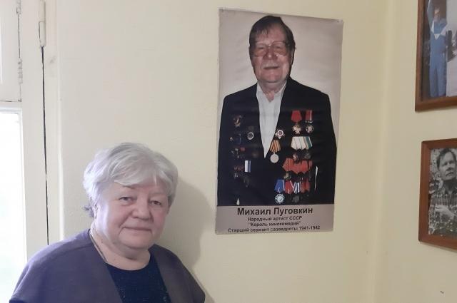 Вдова Михаила Пуговкина Ирина