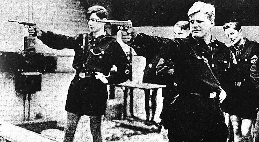 Членов «Гитлерюгенда», переживших войну, вербовали в «Вервольф».