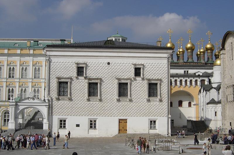 Грановитая палата. Парадный фасад. Вид с Соборной площади