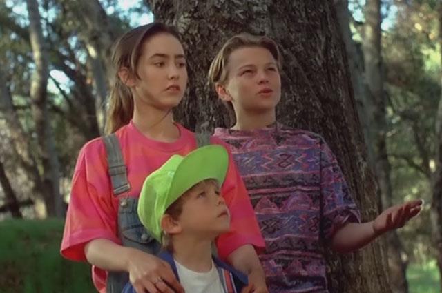 Леонардо Ди Каприо в фильме Зубастики 3 . 1991 год