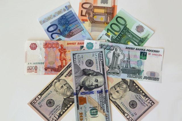 Валюта, рубль, доллар, евро