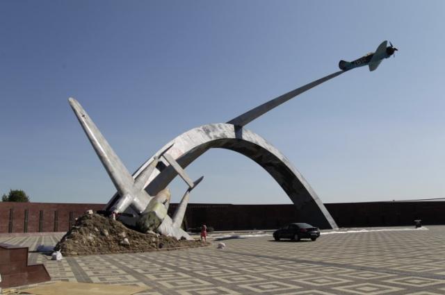 Мемориал «Защитникам неба Отечества».